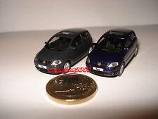LOT 2 NOREV VW FOX BLEU & GRIS FONCE  HO - 1/87°