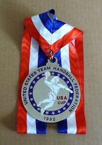 United States HANDBALL Federation USA Cup 1992  MEDAL