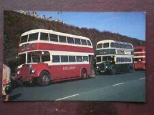 POSTCARD BUS TRAM EAST KENT CJG 959 & MAIDSTONE & DIST DH 159 BUSES