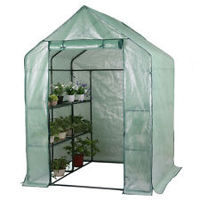 56x56x77'' Greenhouse Gardening Flower Plants Yard Mini Hot Green House Tunnel