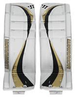 Brand New Warrior Swagger ice hockey Goalie Pads Sr. goal leg pad senior 33 Gold