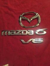 2006 MAZDA 6 V6 TAILGATE EMBLEM SET. (835)