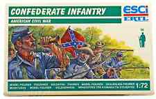 ESCI ERTL #223 - 1/72 scale Civil War Confederate Infantry - mint boxed set