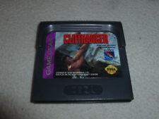 SEGA GAMEGEAR VIDEO GAME CLIFFHANGER CARTRIDGE ONLY CART VINTAGE CLIFF HANGER >>
