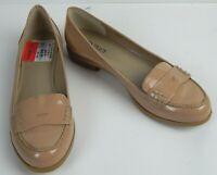 Ellen Tracy Women's Keller Penny Loafer Beige Shoes US Size 8.5 M