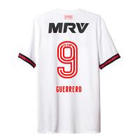 Flamengo GUERRERO #9 Away Soccer Football Jersey Shirt - 2017 Adidas Brazil