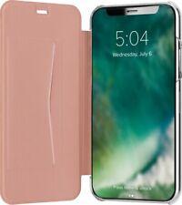 Apple Iphone X Flip COQUE Carte Poche or Rose Housse Adour par Xqisit en Boîte