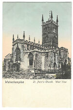 Wolverhampton, St Peter's Church, West View PPC, Unposted, By Wrench