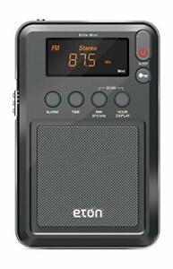 Eton Elite Mini Compact AM/FM/Shortwave Radio Graphics/markings/Color/Packagi...