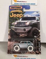 Jeep Willys * Silver * Matchbox Jeep 75th Ann. * K12