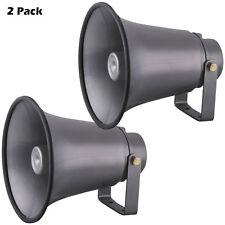 NEW PyleHome PAIR of PHSP8K 8.1'' Indoor / Outdoor 50 Watt PA Horn Speakers