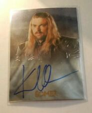Karl Urban Topps Chrome Lord of the Rings Trilogy Eomer Authentic Autograph Auto