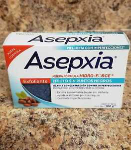 Asepxia Deep Cleansing Scrub Bar Soap. Acne Treatment EXFOLIANTE