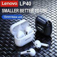 Original Lenovo LP40 wireless bluetooth 5.1TWS headset touch phone headset CSI