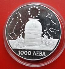 Bulgaria-Bulgarien: 1000 Leva 1995 Silber, KM# 217, PP-Proof, #F 1174