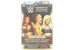 2017 TOPPS WWE WOMENS DIVISION  HANGER BOX