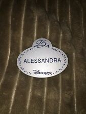 nametag cast members disneyland paris Alessandra