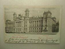Ansichtskarte Ungarn Budapest Justizpalast Budapeströl 1898