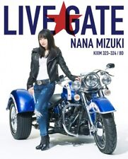 Nana Mizuki Live Gate Blu-Ray Región Código a Japonés Voice Actriz con Tracking