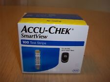 Accu-Chek Smart View Test Strips 100 ct. NEW Exp. 06/30/21