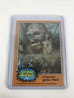 1977 Topps STAR WARS Series #5 Orange: #298 Chewie gets riled Collectible
