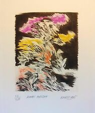 "Restituto Embuscado - "" Human Horizon"" signed and numbered original etching"