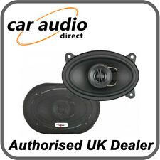 "Excalibur X462 - 4""x6"" 350 Watt 2 Way Coaxial Car Door Shelf Speakers"