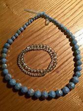 Ragazze Monsoon Accessorize Blu Collana e bracciali gioielli