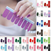 Nail Polish Strip Adhesive Sticker Decals Manicure Tools(included 16 Stickers)