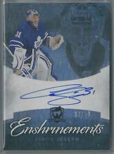 2012-13 UPPER DECK THE CUP ENSHRINEMENTS CURTIS JOSEPH AUTO 38/50!!