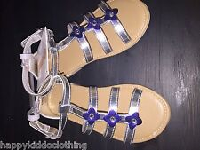 Gymboree silver mermaid sandals shoes New size 9 dress shoe 40.00 tide pool