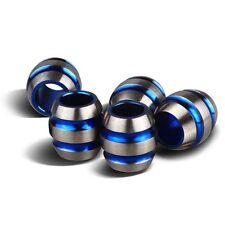 TI-EDC 5PCS Titanium 11mm Knife/Zipper Pull Jewelry Paracord / Lanyard Beads