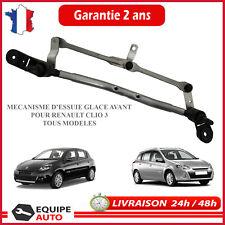 Renault Clio lll 3 Remplacement mécanisme essuie-glace avant 8200383752