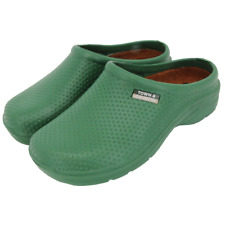 Town & Country EVA Garden Cloggies Cushioned Lightweight Slip On, Green - Size 8