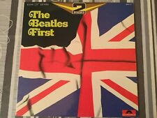 THE BEATLES FIRST DOUBLE ABLUM POLYDOR 2664107 33 TOURS LP TONY SHERIDAN