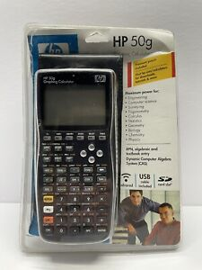 HP 50g Graphing Calculator Black Original Packaging Perfect Condition Tested