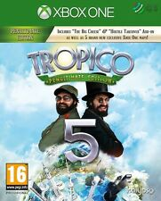Tropico 5 Penultimate Edition Xbox One * NEW SEALED PAL *