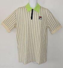 ~LIMITED EDITION~Fila TERRA ROSA POLO Tennis Björn BORG Collection Shirt~Mens XL