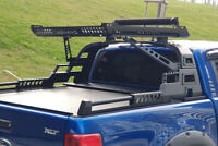 For Ford Ranger Roll Bar and Roof Basket Combat Style Black Roll Bar