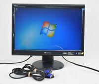 "Gateway TFT19W80PS+ 19"" LCD Monitor VGA DVI Grade A"