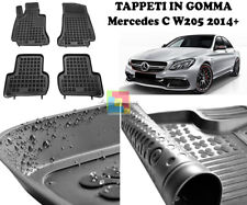 Tappetini Gomma Tappetini per MERCEDES CLASSE C 203 Limousine /& Station Wagon 00-07