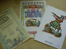 SEA TIGER - HAND COLOURED THEATRICAL PRINT WITH CERTIFICATE