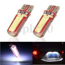 2 Lampade T10 W5W 24 Led Smd Canbus No Errore Luci Bianco targa post Posizione