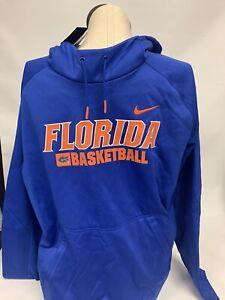 Nike Men's Florida Gators Basketball Elite Hoodie Sweatshirt XL Extra Large