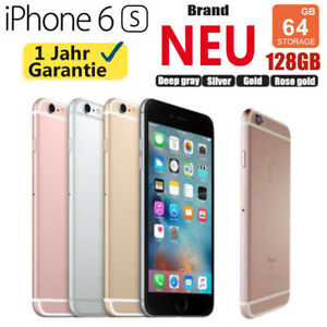 NEU & OVP Apple iPhone 6S 64GB 128GB Ohne Simlock SMARTPHONE