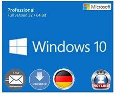 Windows 10 Professional 32/64 bits OEM key clave Multilingual versión completa