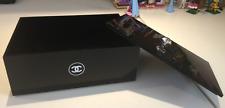 Chanel Jewelry Makeup Beauty Storage Perfume Organizer Acrylic Box NEW w/ LID