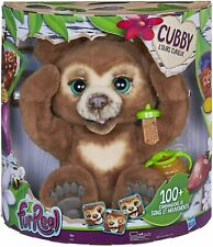 Furreal Friends - Peluche Interactive Cubby. L'ours curieux