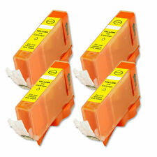 4 PK YELLOW Premium Ink Cartridge plus CHIP for Canon CLI-226Y MG8220 MX882 892