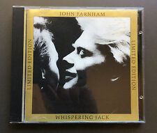 JOHN FARNHAM - Whispering Jack CD VG 1987 10 Tracks Australian Limited Edition